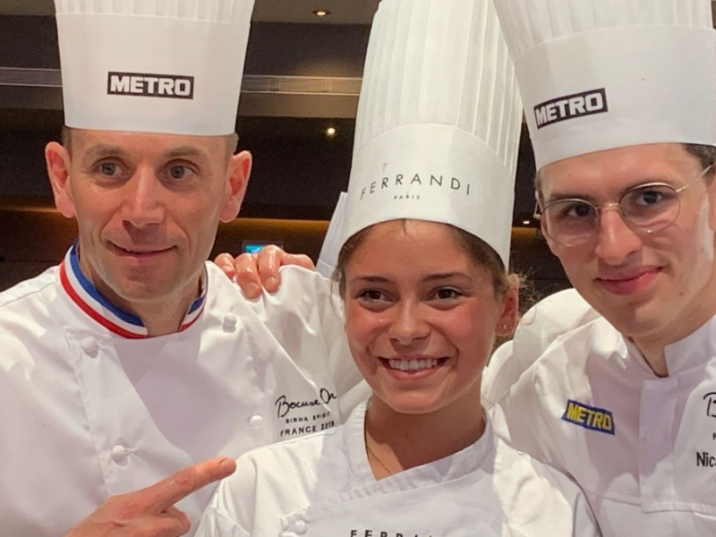 Davy Tissot remporte le Bocuse d'Or France